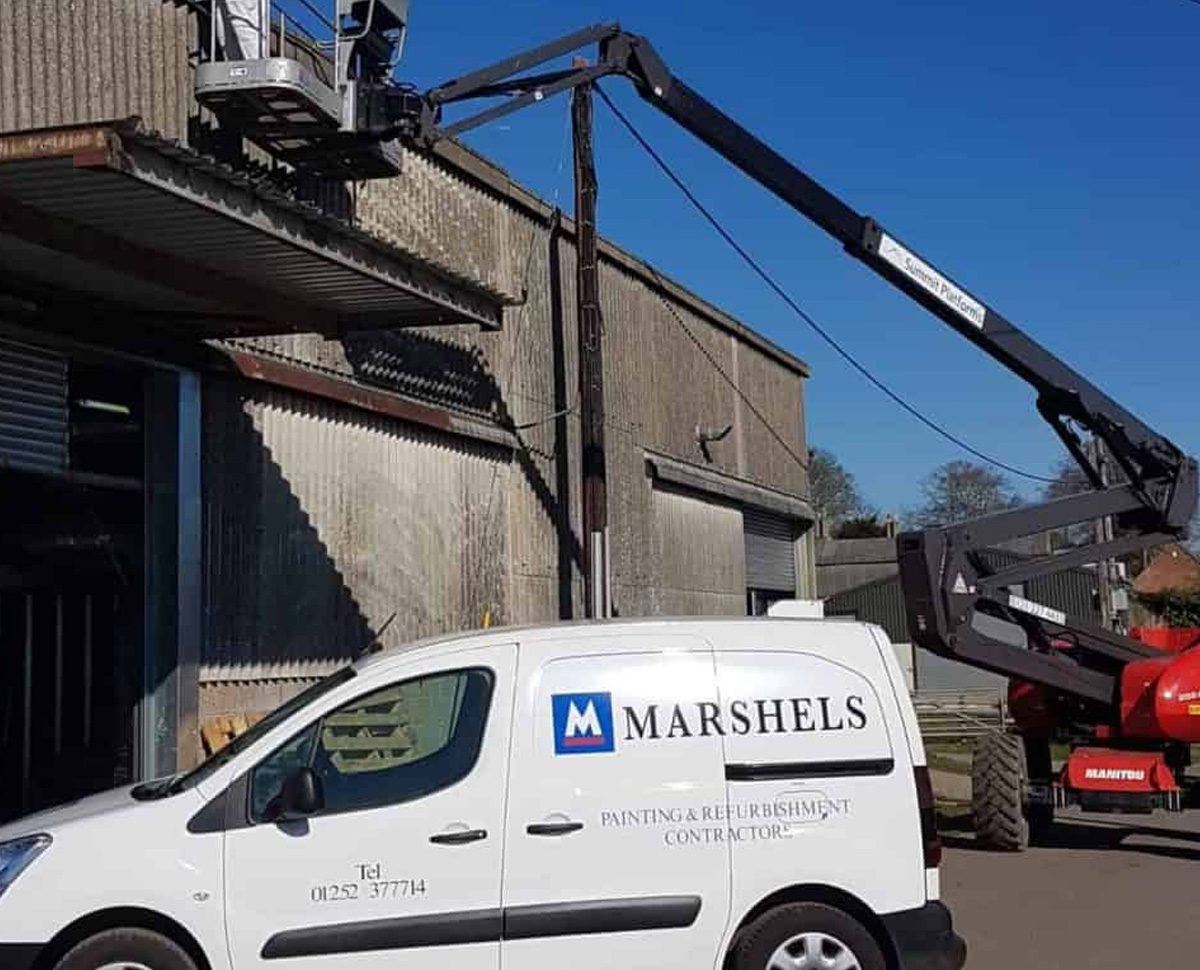 marshels commercial painting 2