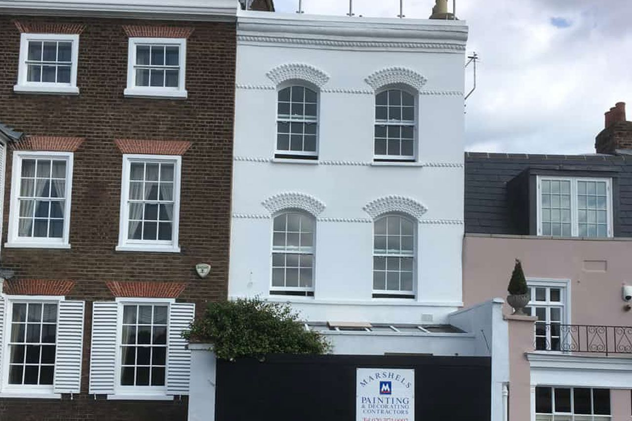 marshels domestic exterior painting